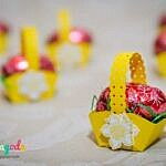 tiny tiny easter baskets :)