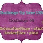 Schmetterlinge & pink