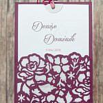 Hochzeitseinladungen Denise & Dominik