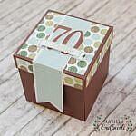 Explosionsbox zum 70. Geburtstag