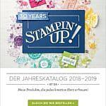 Stampin' Up! Jahreskatalog 2018/2019