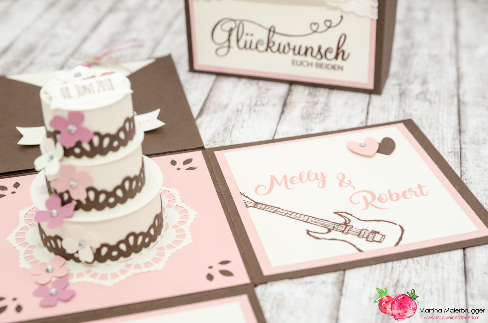 Fraulein Erdbeerli Stampin Up Klagenfurt Explosionsbox Hochzeit