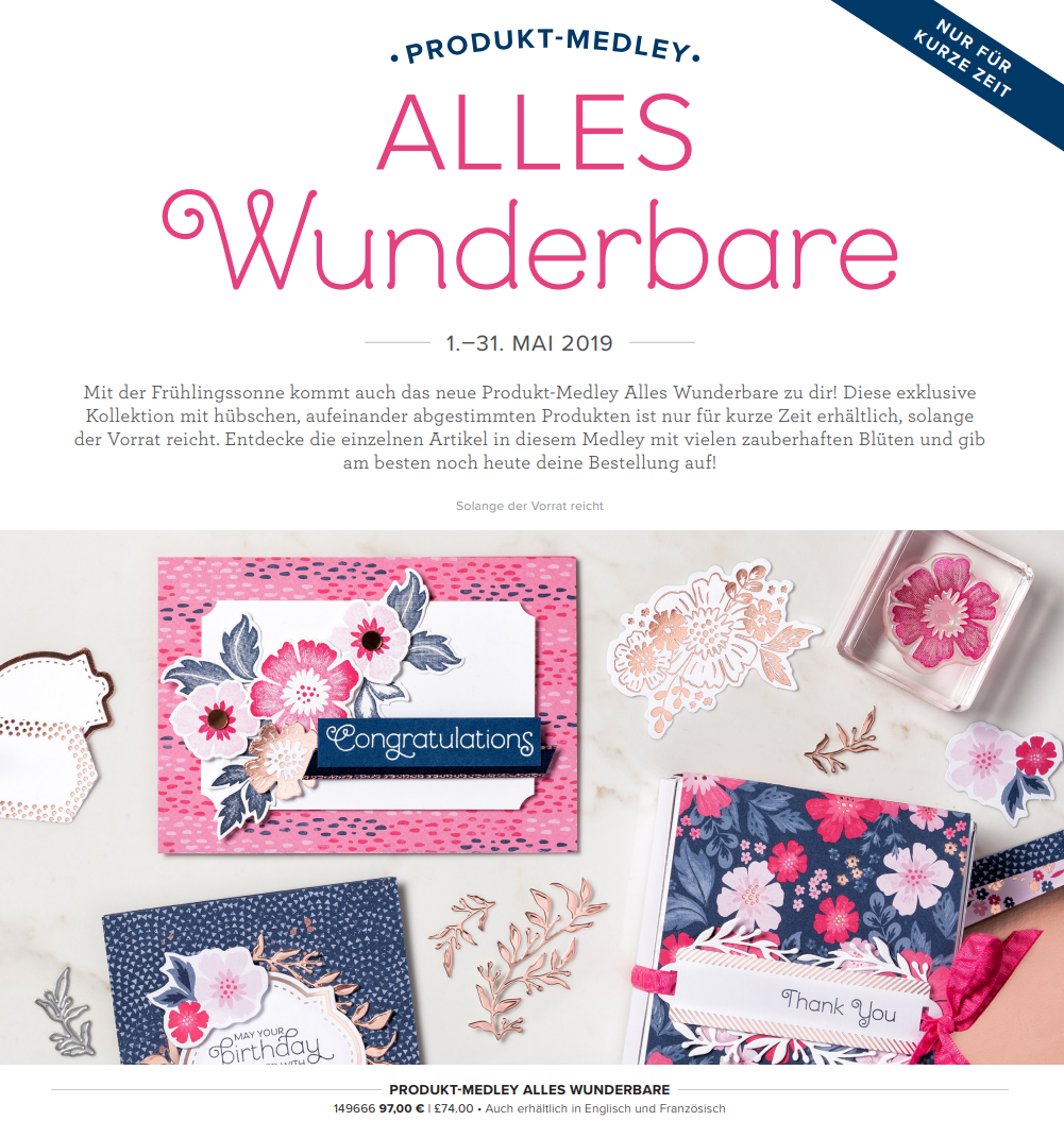 ALLES Wunderbare – EVERYTHING is Rosy