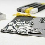 Stamp Impressions Blog Hop – Beileidskarte/Condolence Card