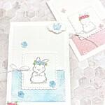 Willkommen Baby – Babykarte – Blog Hop – Tech 4 Stampers Academy