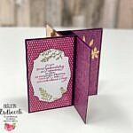 Pinwheel Tower Card – DSP Herbstwunder Stampin' Up!