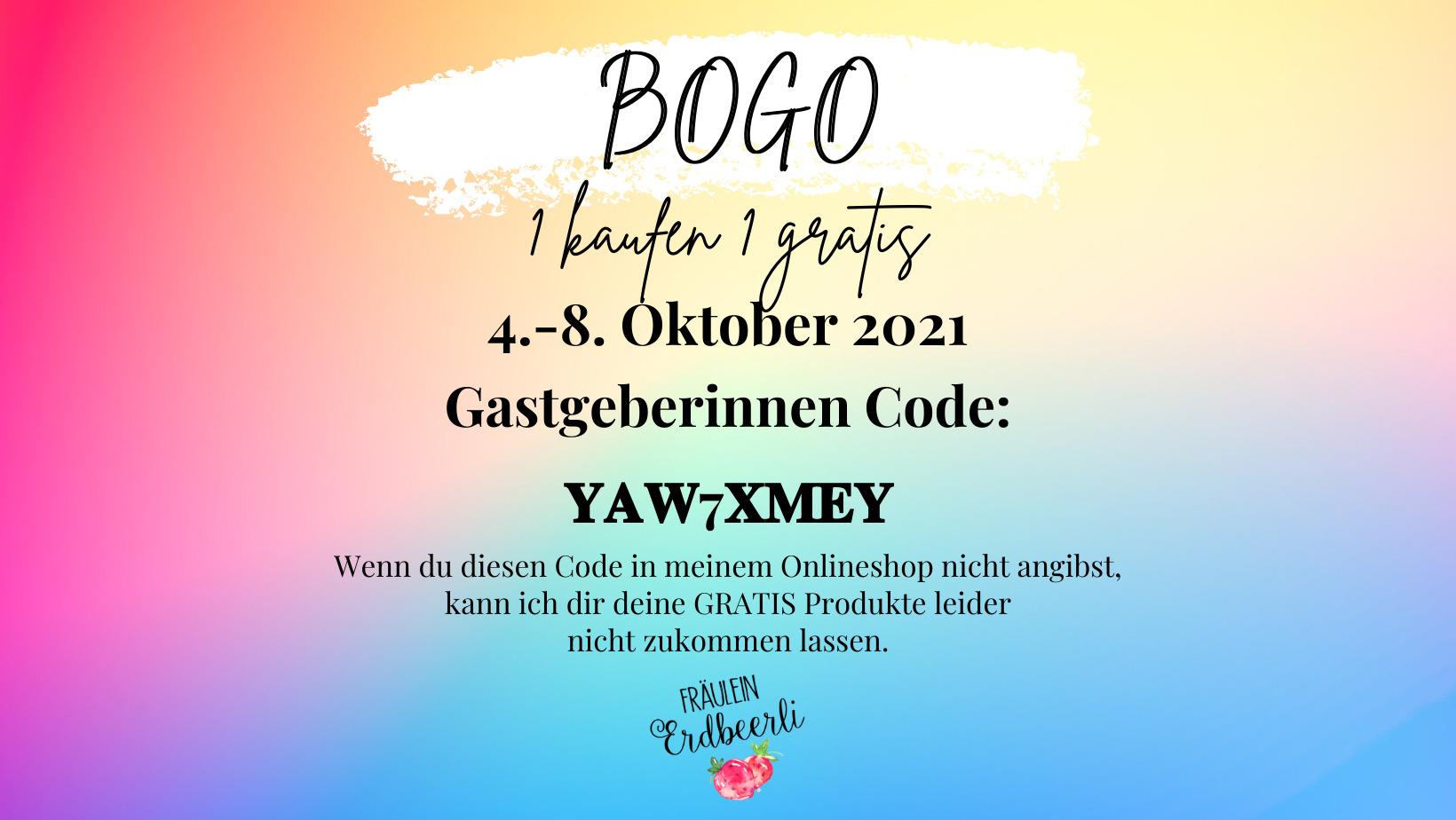 BOGO – buy one get one free VERKAUF von Stampin' Up! Produkten