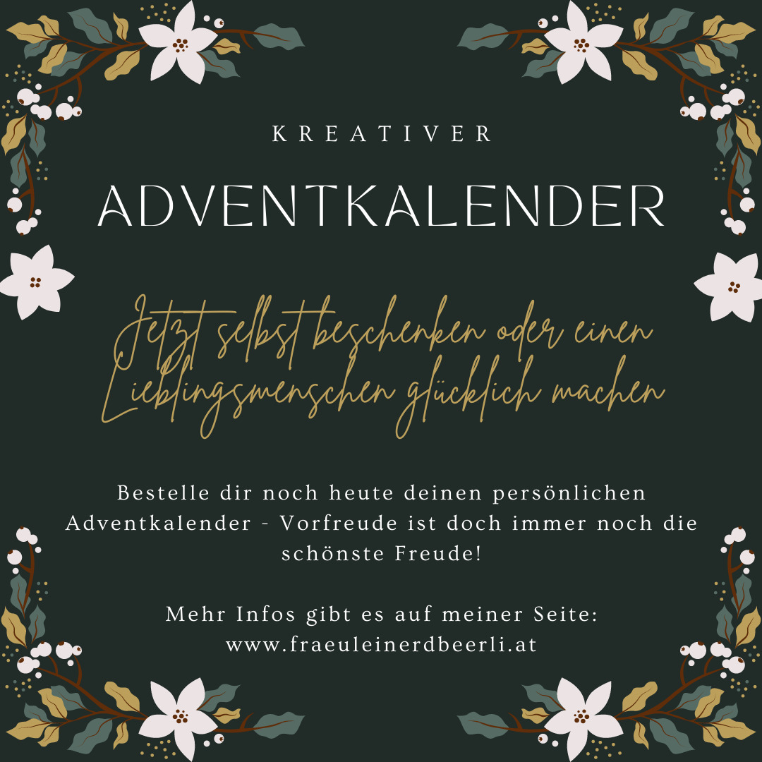 Adventkalender 2021 mit Stampin' Up! Produkten