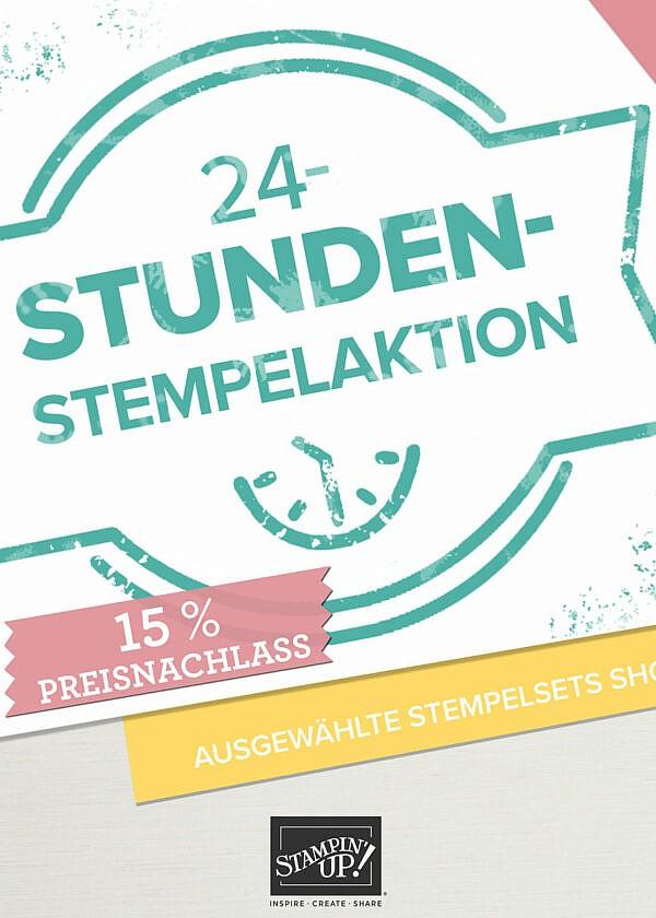 Stempelaktion -15% auf Produkte von Stampin' Up!